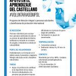 Voluntariado de apoyo en el aprendizaje del castellano