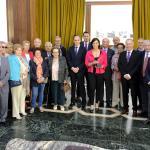 Recibimiento por la Alcaldesa, Gema Igual, a los representantes de las 20 provincias asistentes.