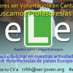 Cartel Voluntariado ELE
