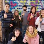 """Equipo de ACCAS Campaña """"Yotrabajopositivo"""" Sin discriminación por VIH"""