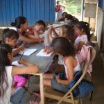 Programa educativo escolar en Nicaragua - recaudación lotería Amycos 2016