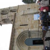 Entrada Iglesia Santa Cecilia