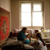 Atención domiciliaria del equipo de salud mental en Ucrania